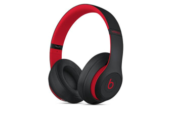 Beats Studio3 Wireless Over-Ear Headphones (Defiant Black-Red)