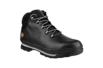 Timberland Pro Mens Splitrock Water Resistant Safety Boots (Black)