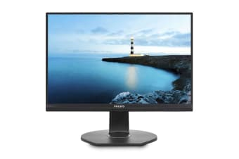 "Philips 24"" Full HD 1920x1080 USB-C Docking IPS Monitor (241B7QUPBEB)"