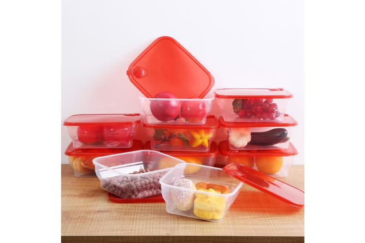 Sherwood 10 Piece All Purpose Food Container - 1600ml