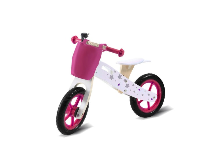 Bopeep Kids Balance Bike Ride On Toy Wooden Push Bicycle Trainer Outdoor Gift AU