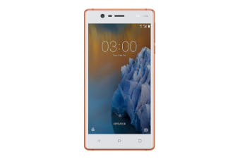 Nokia 3 (16GB, Copper White)