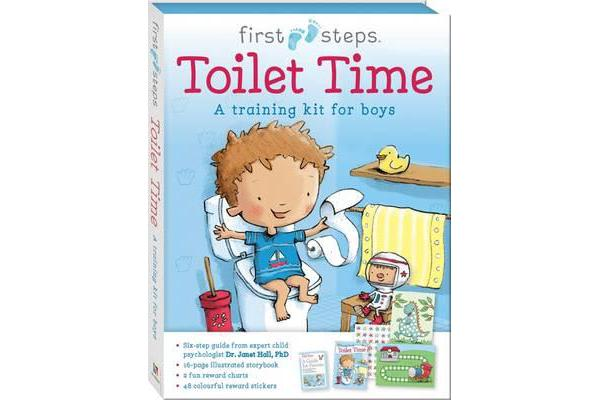 First Steps Ready to Go Toilet Time for Boys