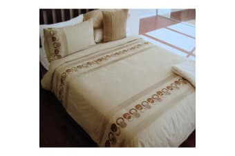 Mayfair Embroidered Quilt Cover Set by Manhattan