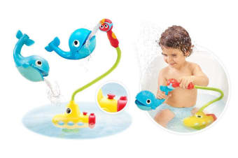 Yookidoo Baby Bath Toy Submarine Spray Whale