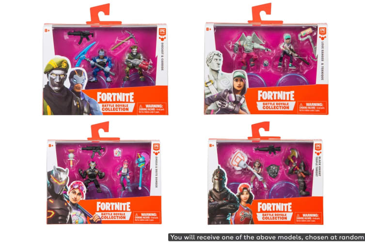 Fortnite Duo Figure Pack (Assorted)