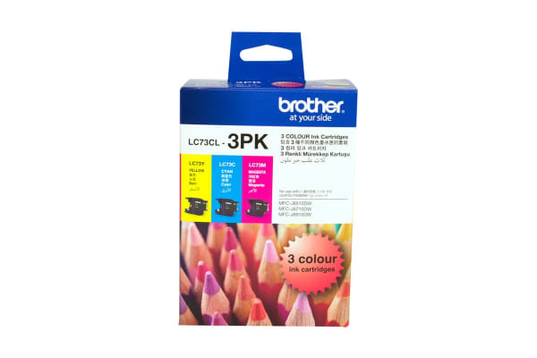 Brother LC73 Colour Value Pack (Cyan, Magenta, Yellow)