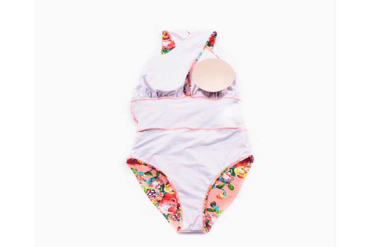 Women'S Large Size Swimming Clothes Cross Covered Swimming Clothes - 4 M
