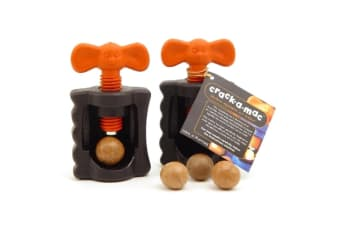 Crack-a-mac Handheld Macadamia Nut Cracker X 2