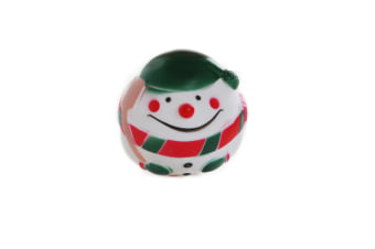 Snowman Ball for Dogs & Puppy X-Mas Squeaky Dog Toy