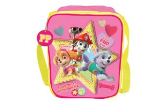 Paw Patrol Childrens/Girls Official Best Pup Pals Lunch Bag (Pink) (One Size)