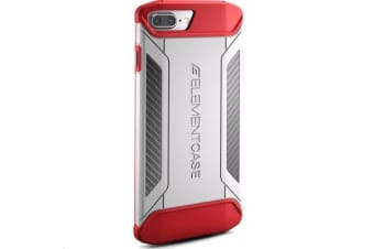 Element Case iPhone 7 Plus - CFX White/Red