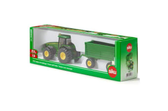 Siku John Deere Tractor with Tipping Trailer 1:50 scale