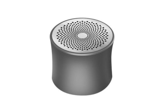 Bluetooth Speaker Desktop Metal Bass Wireless Portable Card Speaker Grey