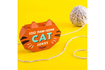 100 Paw-some Cat Jokes Gift Boxed Cards