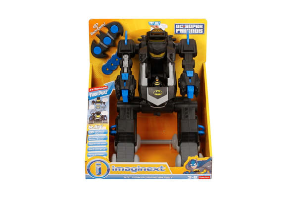 Imaginext DC Super Friends Remote Control Transforming Batbot
