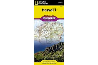 Hawaii - Travel Maps International Adventure Map
