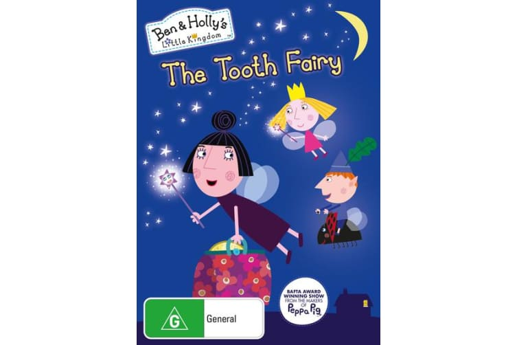 Ben and Hollys Little Kingdom The Tooth Fairy DVD Region 4