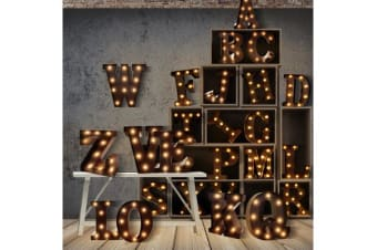 Alphabet LED Letter Lights A