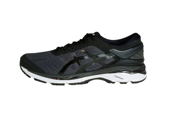 ASICS Men's Gel-Kayano 24 Running Shoe (Black/Phantom/White, Size 7)