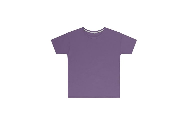 SG Childrens Kids Perfect Print Tee (Pack of 2) (Aster Purple) (9-10 Years)