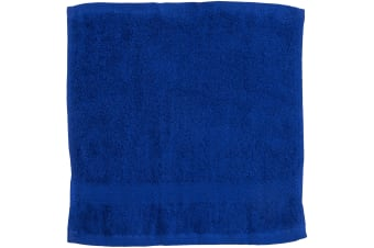 Towel City Luxury Range 550 GSM - Face Cloth / Towel (30 X 30 CM) (Royal)