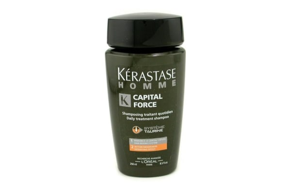 Kerastase Homme Capital Force Daily Treatment Shampoo (Densifying Effect) (250ml/8.5oz)