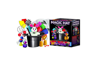 Exclusive Magic Hat Set: 100 Top Hat Magician Tricks