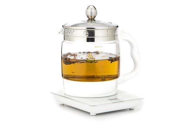 800W 1.8L Electric Glass Tea Kettle