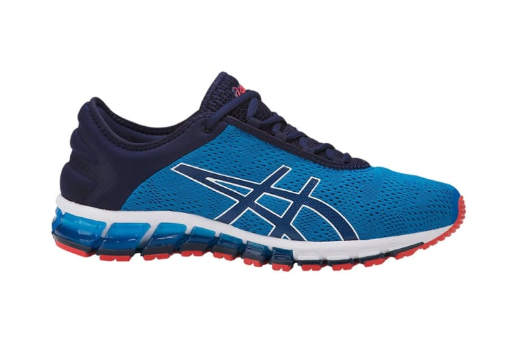 ASICS Men's Gel-Quantum 180 3 Running Shoe (Race Blue/Peacoat, Size 7.5)