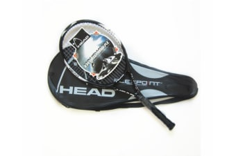 Carbon Fiber Super Light Weight Tennis Racquets Shock-Proof And Throw-Proof Black