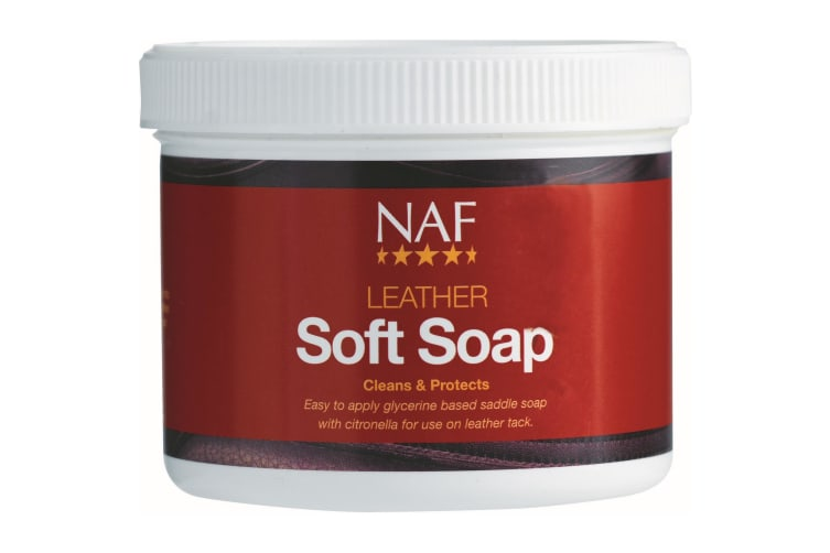 NAF Leather Soft Soap (Multicoloured) (450g)