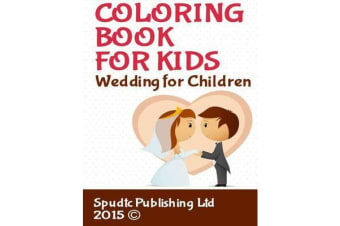 Coloring Book for Kids - Wedding for Children