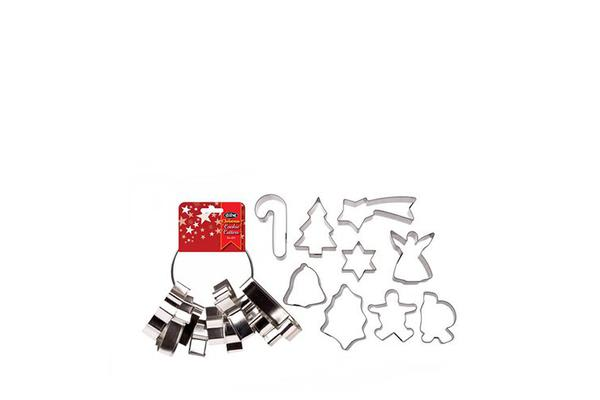 D.Line Christmas Cookie Cutter 9pc