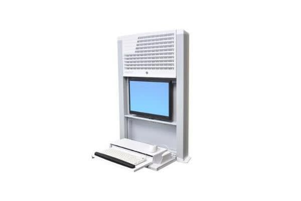 ERGOTRON BWT STYLEVIEW LOW PROFILE WALL MOUNT ENCLOSURE