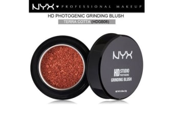 Nyx Hd Studio Photogenic Grinding Blush #Hdgb06 Terra Cotta Natural Beige
