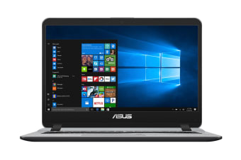 "ASUS 14"" UltraSlim VivoBook Core i7-7500U 8GB RAM 256GB SSD Windows 10 Pro Notebook (X407UA-BV113R)"