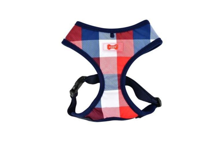 Puppia Quinn Dog Harness A (Navy) (L)