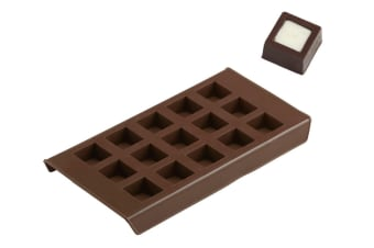 Davis And Waddell Cubico Chocolate Mould And Ice Tray