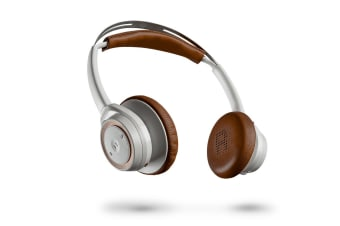 Plantronics BackBeat Sense Wireless Headphones (White/Brown)