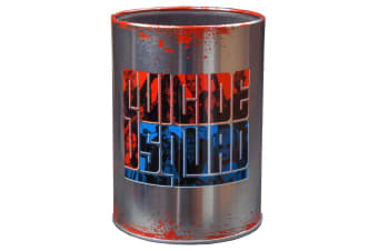 Suicide Squad Logo Metal Can Cooler