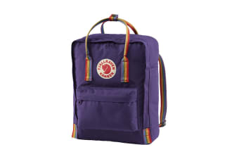 Fjallraven Kanken Rainbow (Purple/Rainbow Pattern)