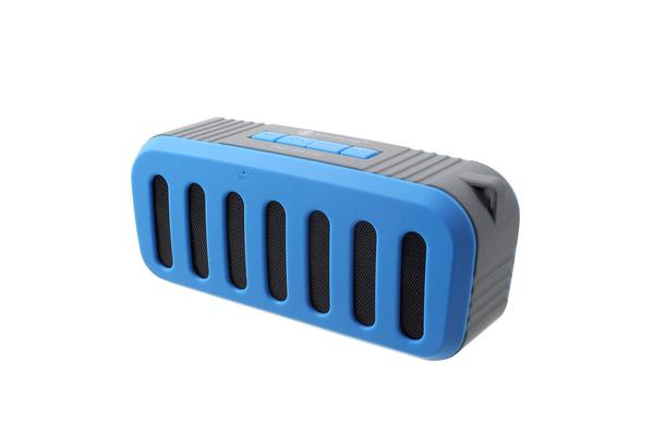 Bluetooth V2.1 +Edr Mini Stereo Speaker Wireless Rechargeable Usb Tf Fm Blue