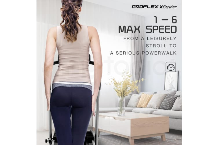 PROFLEX Electric Treadmill Compact Exercise Machine Walking Fitness Equipment