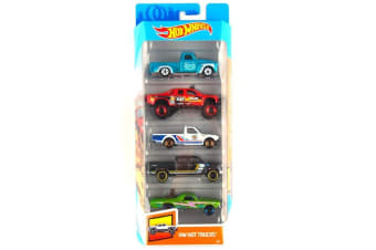 Hot Wheels 5 Pack - Hot Trucks
