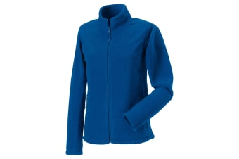 Russell Colours Ladies Full Zip Outdoor Fleece Jacket (Bright Royal)