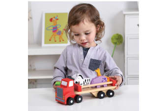 Wooden Animal Truck - Tooky Toy