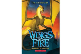 Wings of Fire #10 - Darkness of Dragons