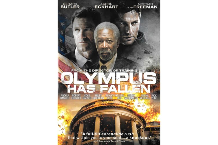 Olympus Has Fallen - Region 1 Rare- Aus Stock DVD PREOWNED: DISC LIKE NEW