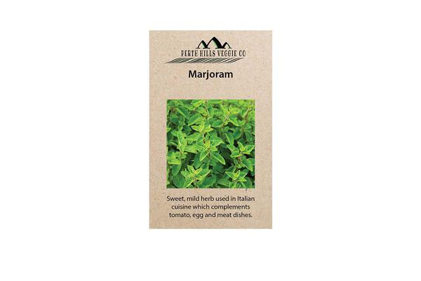 Perth Hills Veggie Co Herb Seeds Marjoram